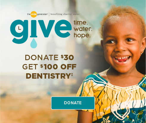 Donate $30, Get $100 Off Dentistry - Tri-City Smiles Dentistry and Orthodontics